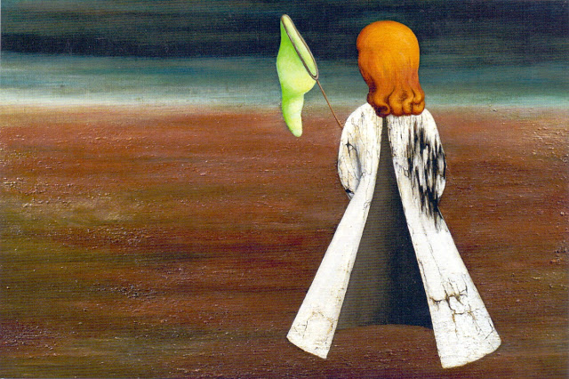 Obraz  Spící  namalovaný v roce 1937 a v roce 2009 vydražený za 20 milionů Kč (bez aukční provize) do soukromé sbírky. Je to ikonický obraz autorky. Zdroj: reprodukce ukradena z portálu kamsevydat.cz