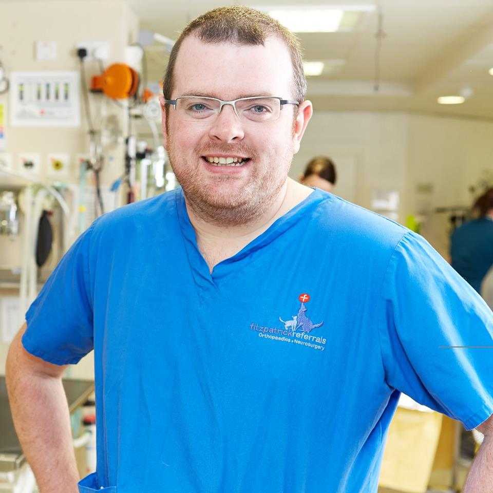 Padraig Egan BVM&S CertAVP (GSAS) MRCVS is an ECVS Surgical Resident at Fitzpatrick Referrals.