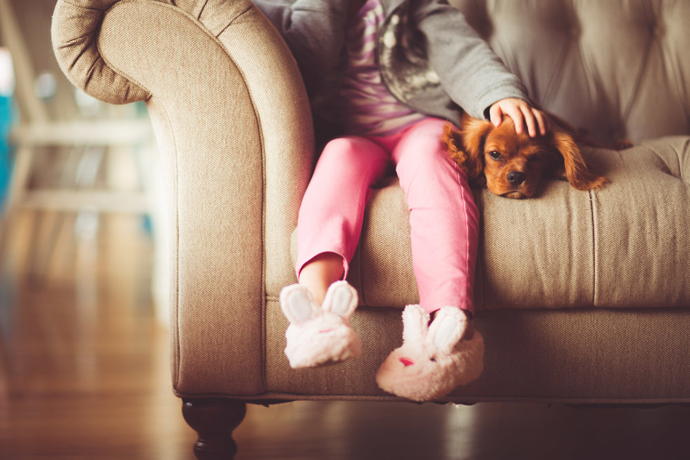 Children and pets are often inseparable. Worming protects them both from health problems.