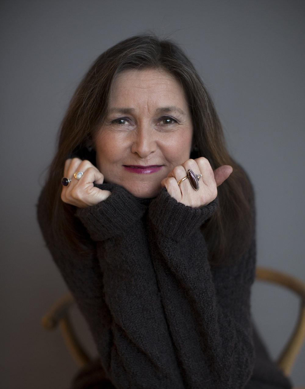 Writer Sissel Gran