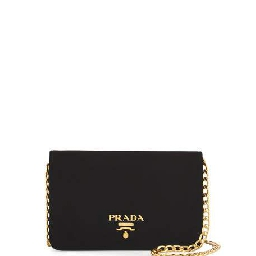 Prada Velvet Chain Shoulder Bag