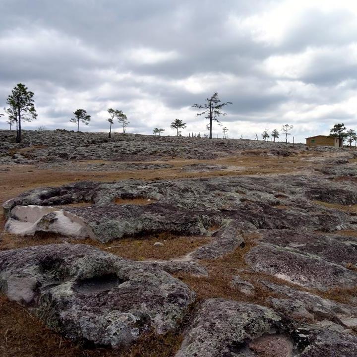 A very rocky terrain