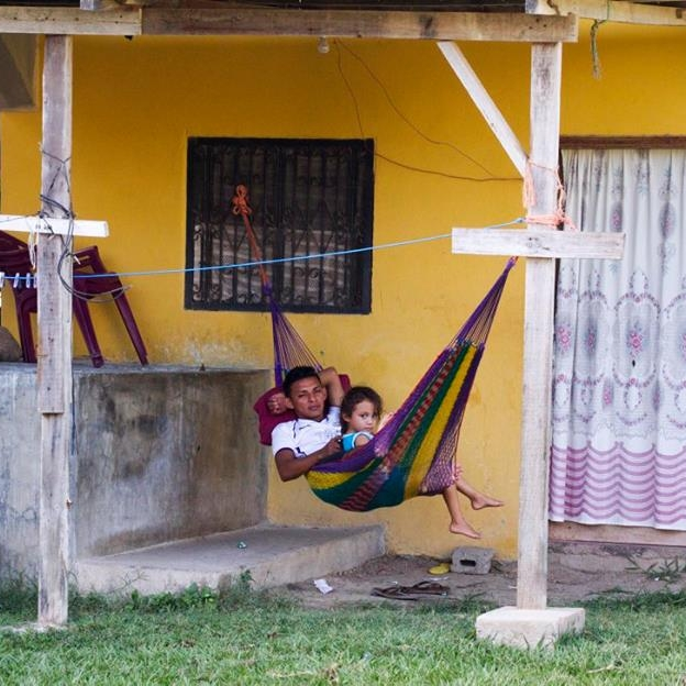 Many homes have hammocks