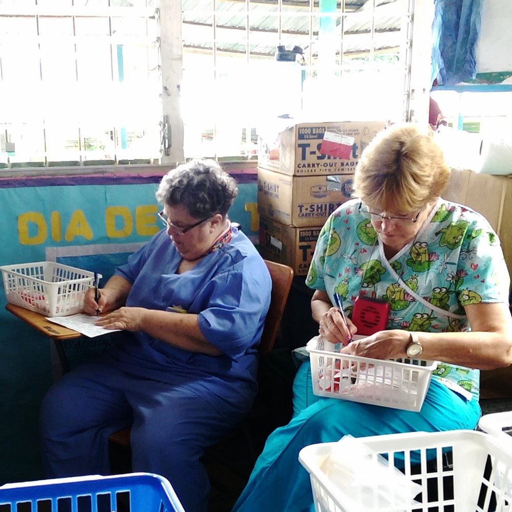 Checking medications before they are given to patients