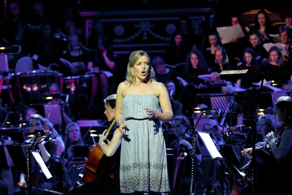 As Persephone in Seven Seeds, Royal Albert Hall, 2015 (Photo Credit: Sheila Burnett)