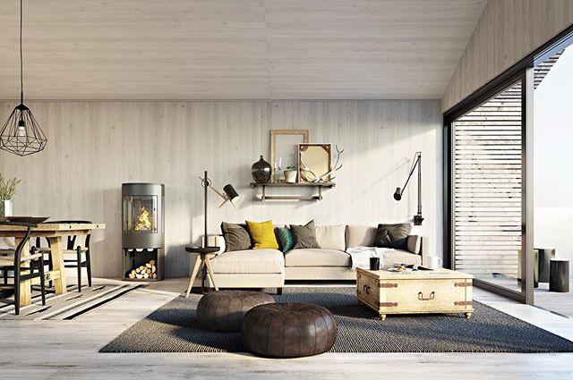 AS Naturbetong #Uthussetra #Geilo #interiør #interior
