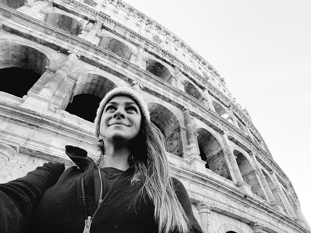 Coliseo e eu.