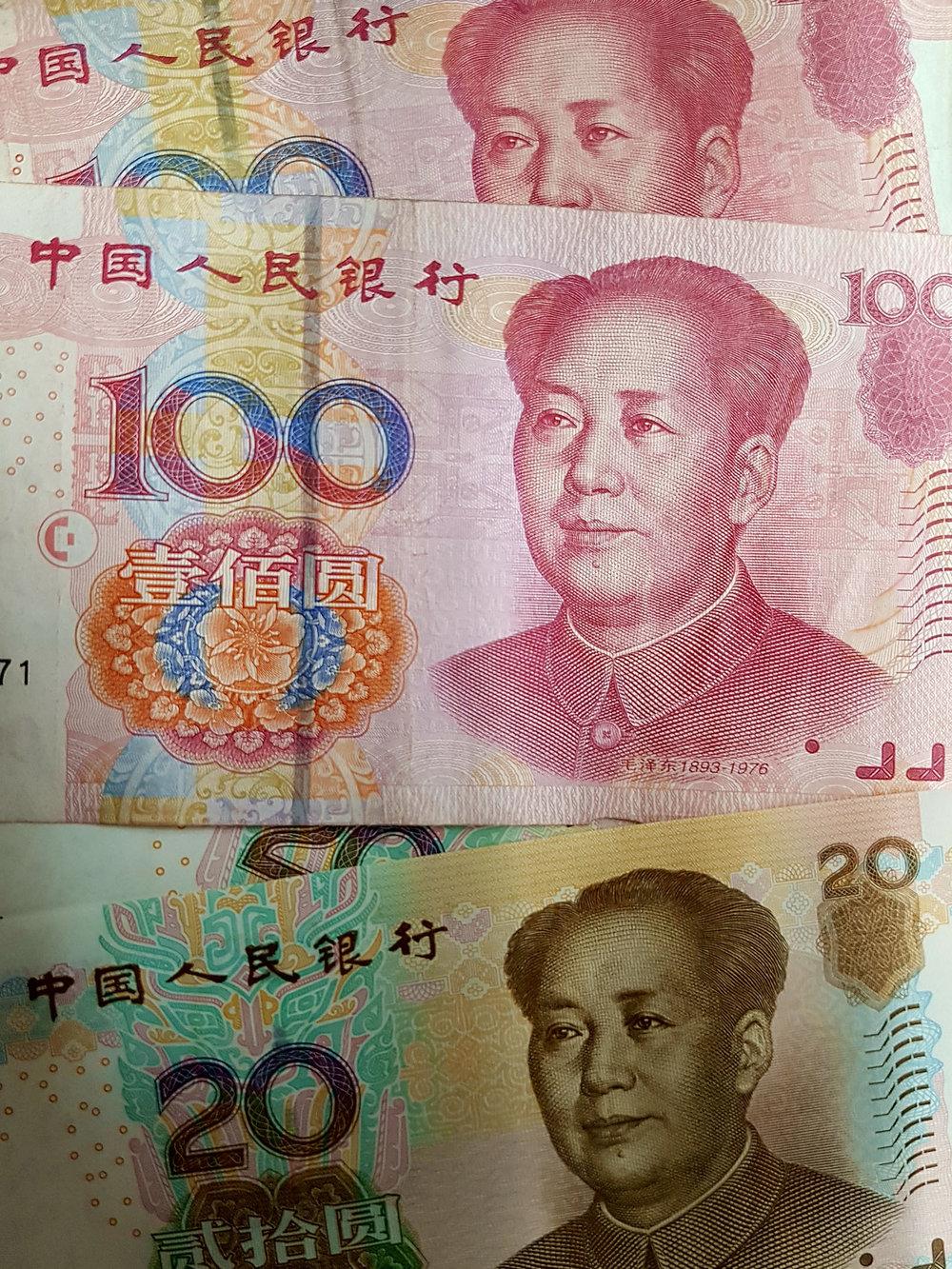 Renminbi, a moeda chinesa