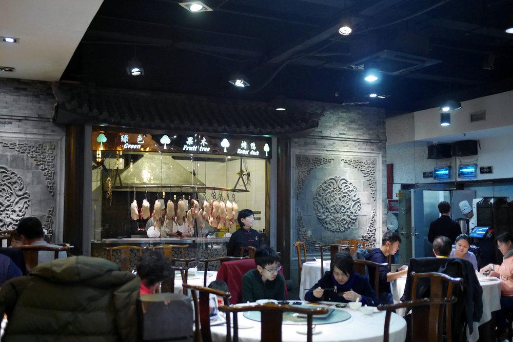 Dizem as más línguas que nem em Pequim se faz um pato tão bom como o de Xangai!