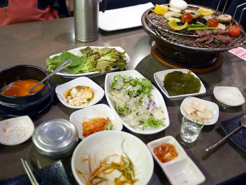 Churrasco coreano, o churras mais leve do mundo!