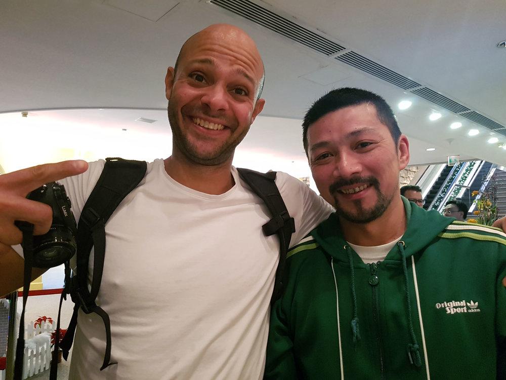 Alberto Soares e eu!
