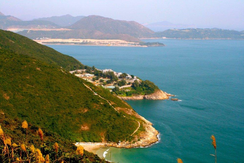 Sim, isso é Hong Kong! Visuais inexperados na Dragon's Back Trail
