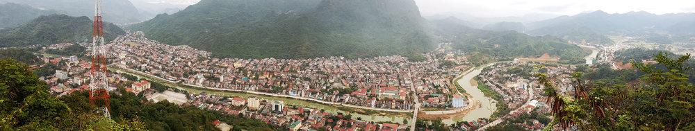 Hà Giang vista por cima