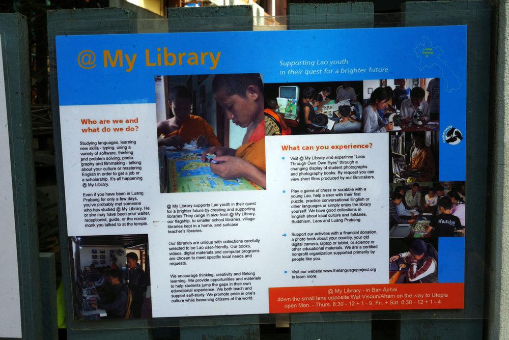 O My Library conseguiu bolsas de estudo nos EUA e na China para diversos adolescentes.As instalações são de primeiro mundo!