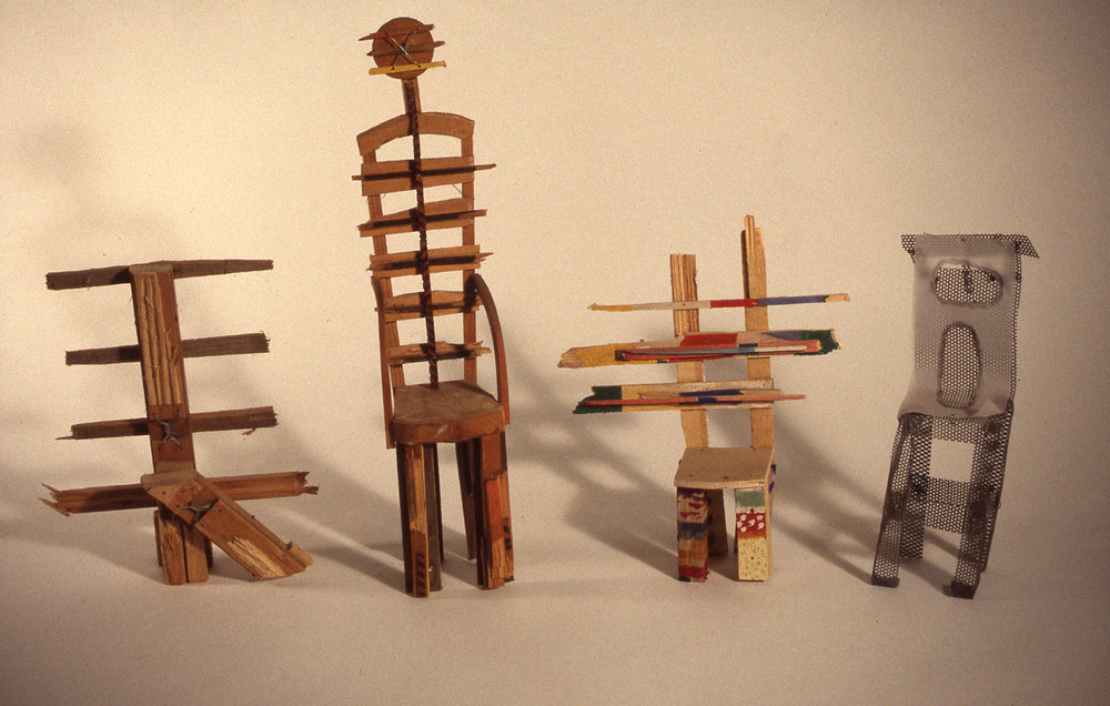 Chair Sculptures - Mixed Media