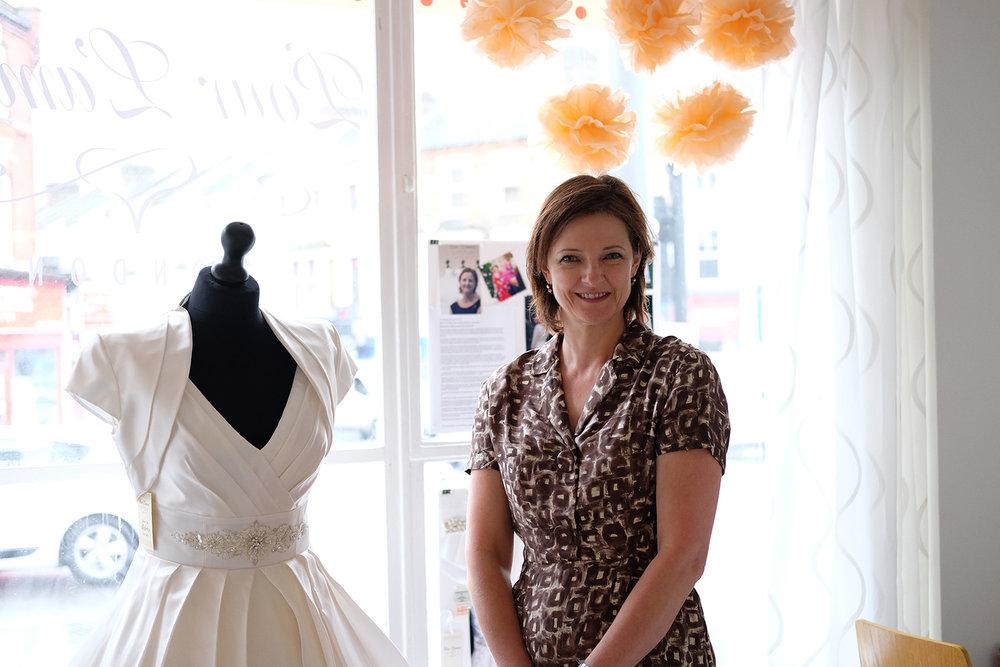 Paula Moore, owner and designer