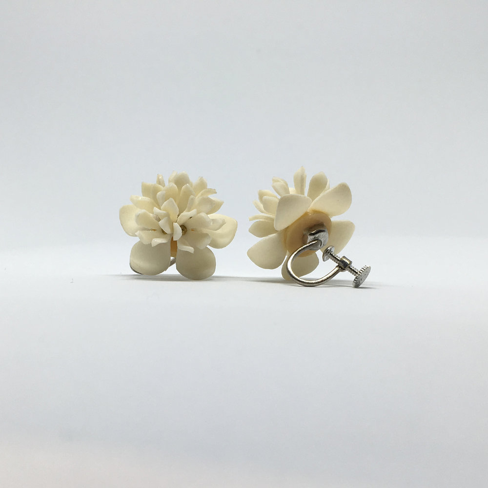 Flower Earrings (screw fastening) £15.00
