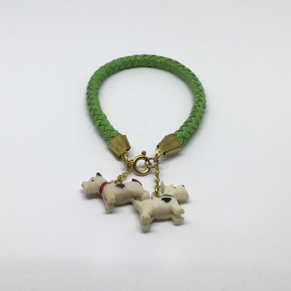 Green Scotty Dog Bracelet £12.00