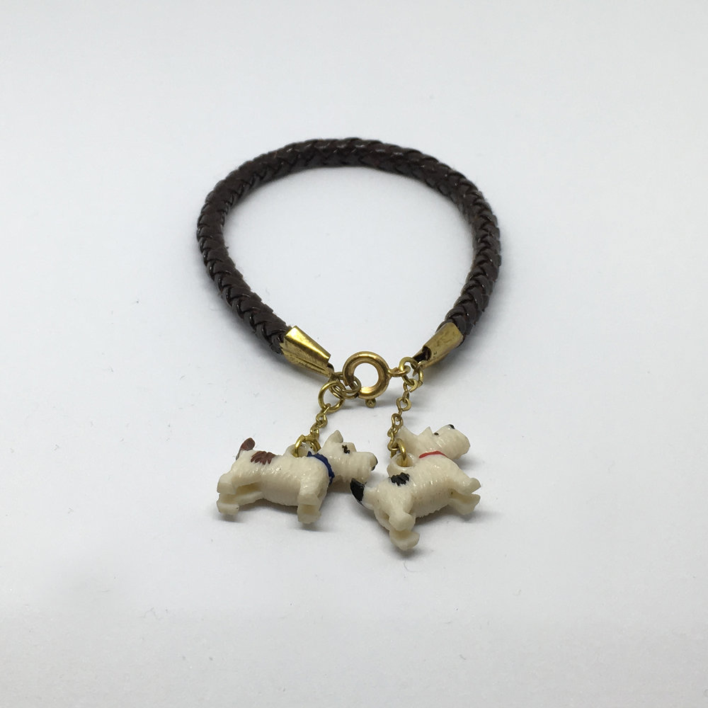 Brown Scotty Dog Bracelet £12.00