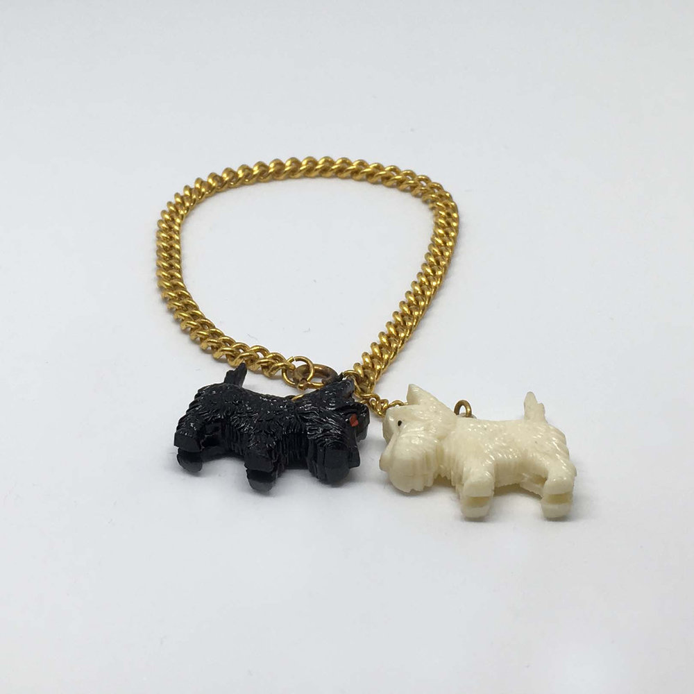 Gold Scotty Dog Bracelet £10.00