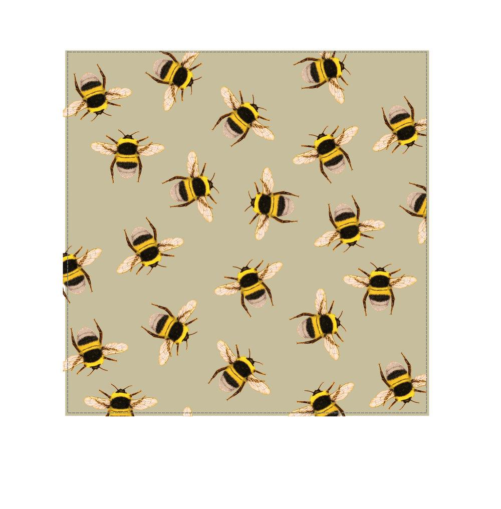 Bee Swarm Taupe - Velvet