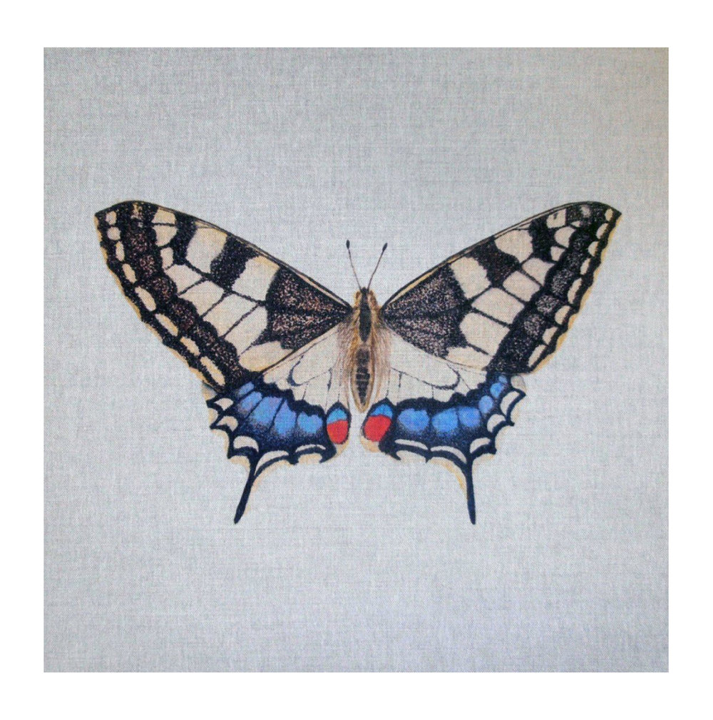 Butterfly (Swallow Tail) - Linen