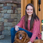 Image: Brooke Martin and her dog