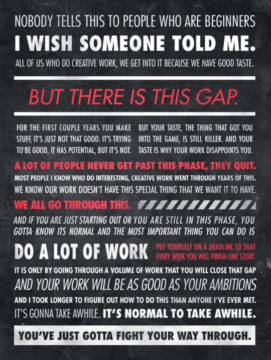 Ira Glass Infographic