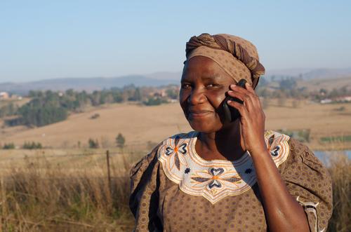 AfricanWomanonCellPhone.jpg