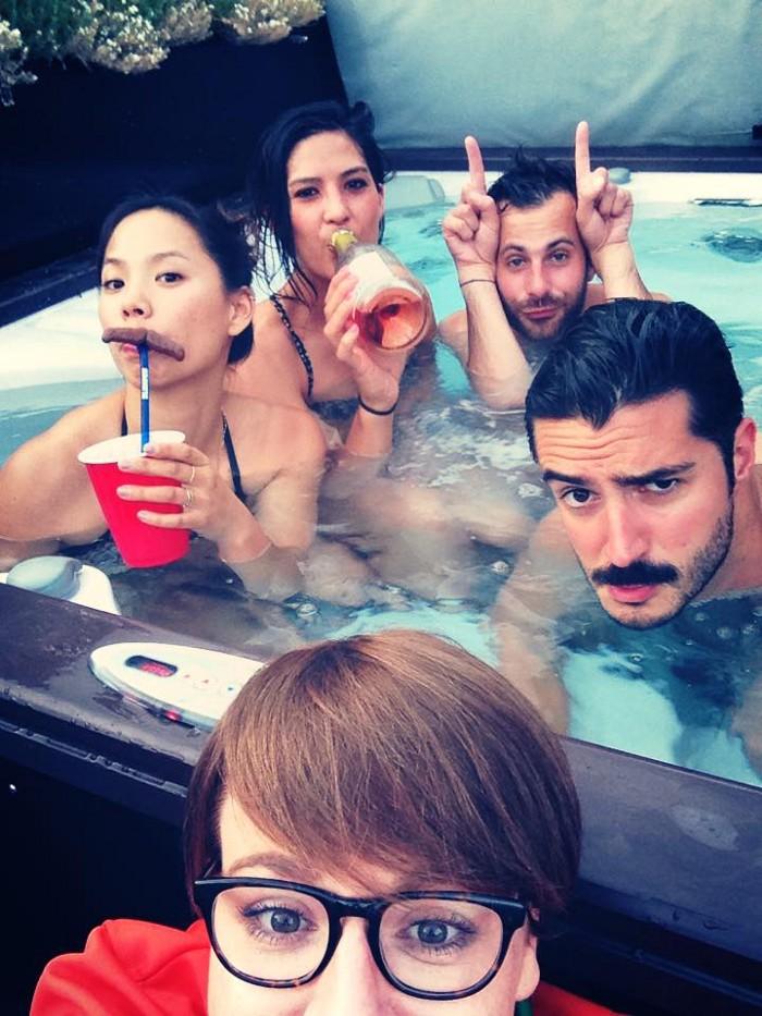 Instacart Hot Tub