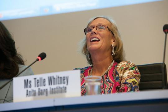 Telle Whitney CEO of Anita Borg Institute