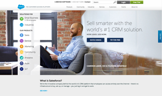 SalesforceHomepage