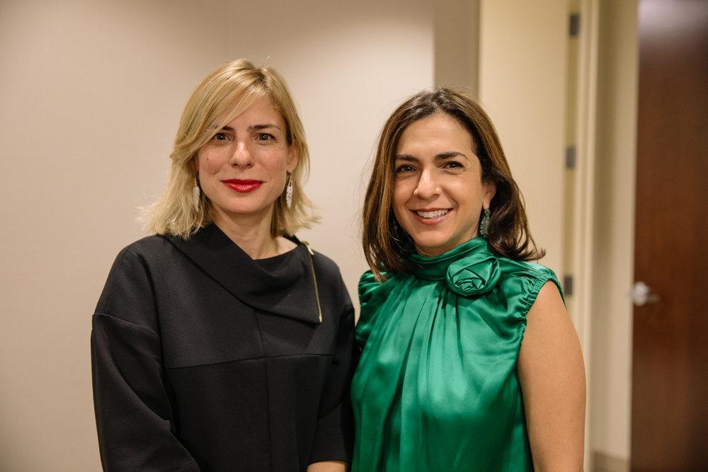 Lucienne Gigante and Marta Michelle Colon