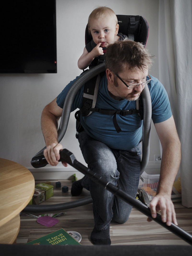 """Photo credit:Johan Bävman, in his series """"Swedish Dads"""" and the country's 480 day parental leave policy"""