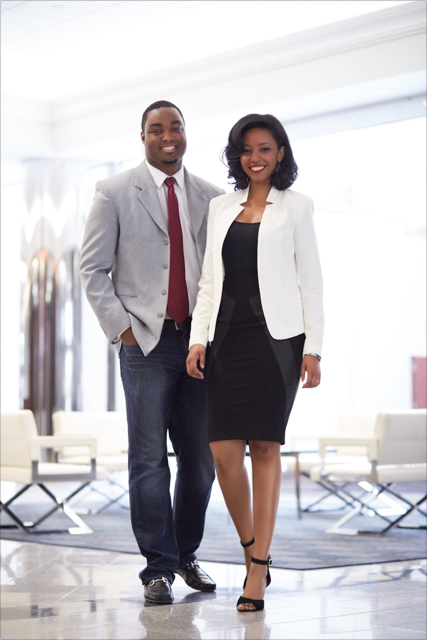 Co-founders James Jones and Kristina Jones