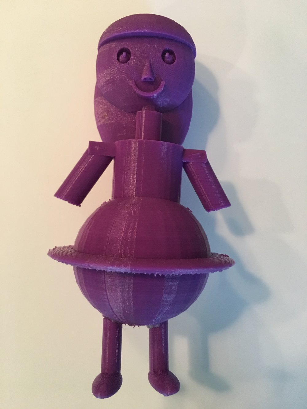 Emily's STEMily, a 3D-printed doll