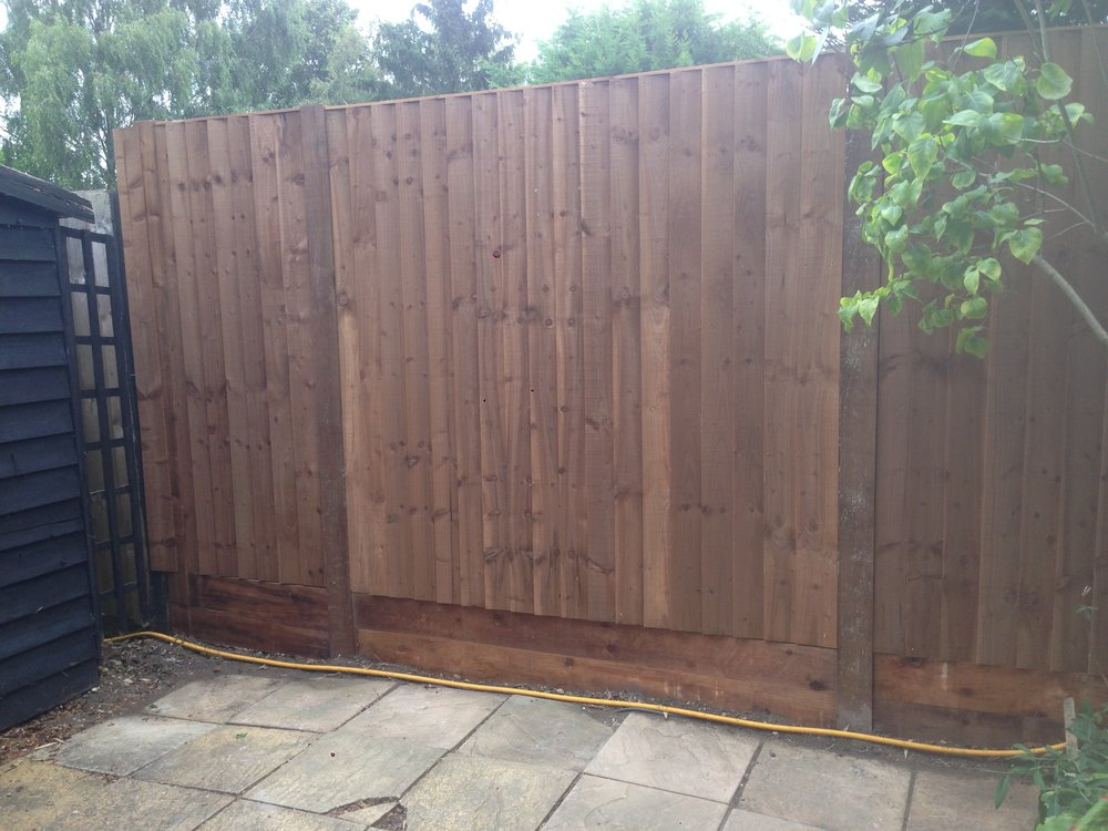 Completed Fence Line
