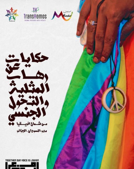 """""""مع بعض صوتنا أعلى"""" حملة إلكترونية أطلقها كلا من """"منظمة بداية للمثليين و المثليات في منطقة وادي النيل (مصر والسودان) , """"مؤسسة مساحات للتعددية الجنسية والجندرية"""", و منظمة ترانس هوموز دي زد الجزائرية في إطار إحتفالاتها باليوم العالمي لمناهضة رهاب المثلية و التحول الجنسي """" ايداهوت"""" 2016.نشرت الحملة كتيبا بعنوان """"أصوات نساء كويريات من شمال إفريقيا"""" يحتوي على قصص لنساء من شمال إفريقيا (مصر...السودان...الجزائر)."""