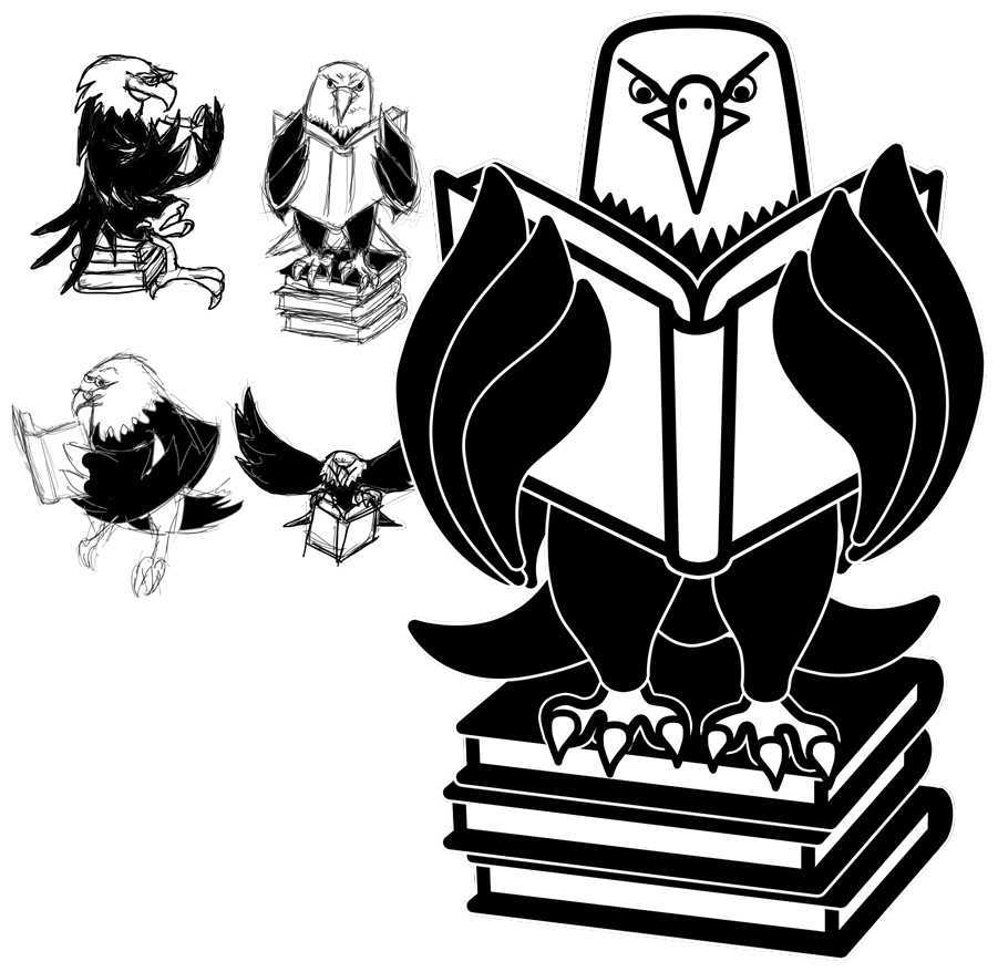 Le Conte Reading Eagle Logo