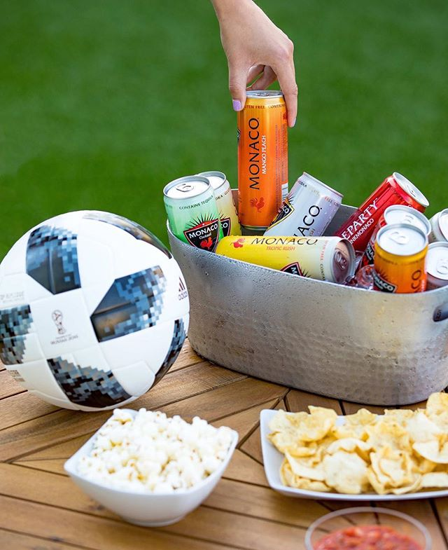 ⚽️64 Games, 32 Teams, 1 Champion, 2 Shots in Every Can #drinkmonaco #worldcup