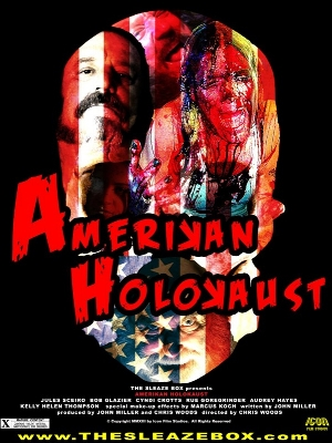 We finally got our own recording equipment so we don't have to keep    Jon Towers    and his beautiful lady up at all hours listening to our big mouths and loud asses! On this episode, we review    Amerikan Holokaust     (2013)....and things go south pretty quickly! Stick around, you won't be disappointed!    Stay tuned and, most importantly, stay nasty.    *Not currently available to watch for free anywhere that we have found.Title link is for the trailer only, SORRY!