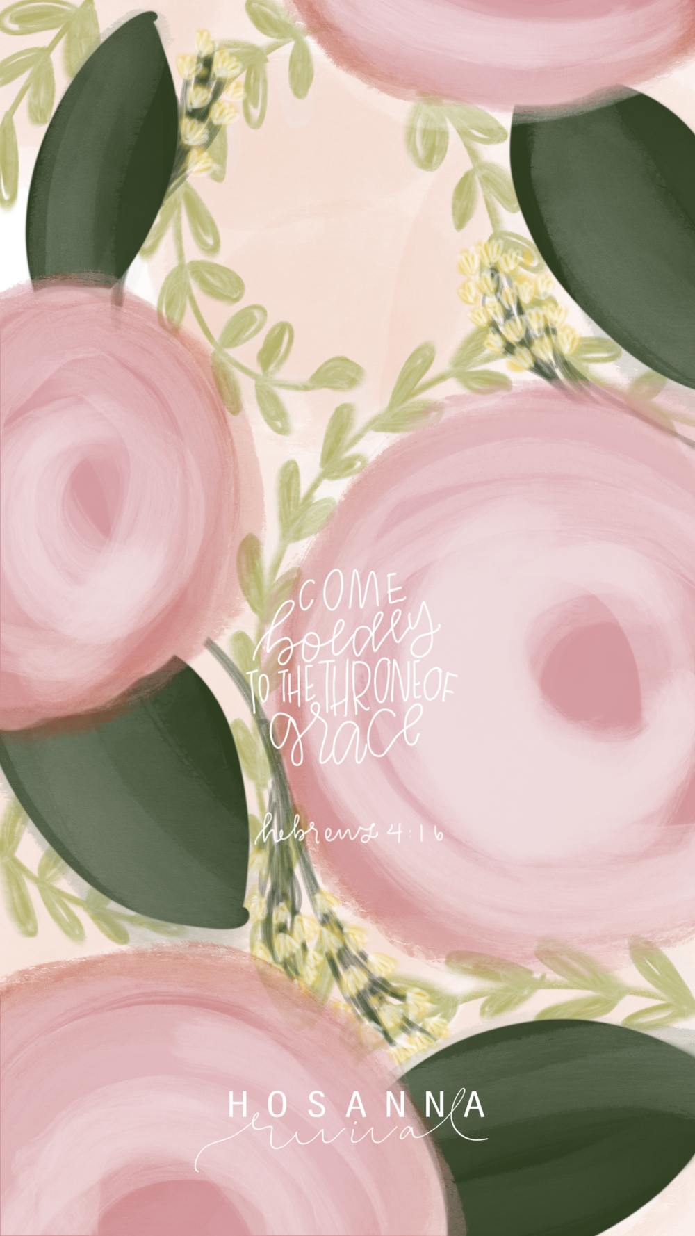 Hebrews 4:16 Rosie, Tulip