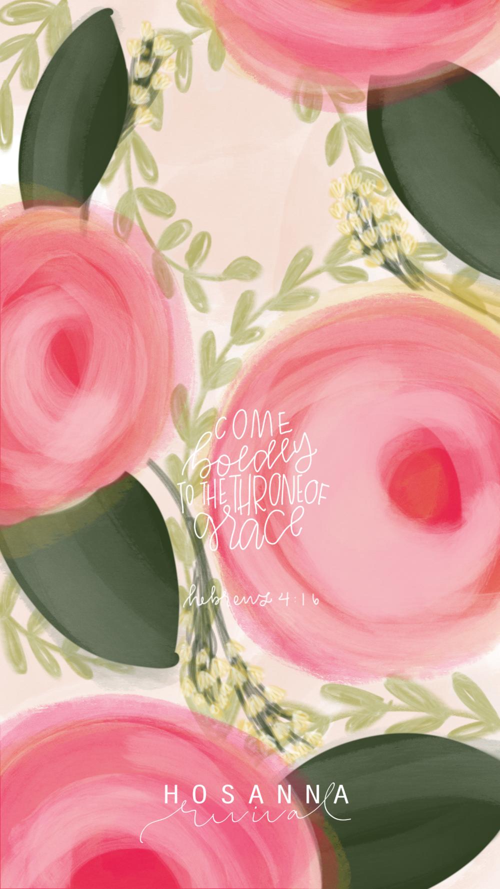 Hebrews 4:16 Rosie, Carnation