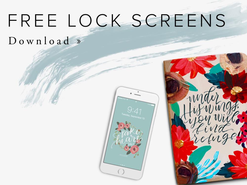 Free Hosanna Revival Lock Screens