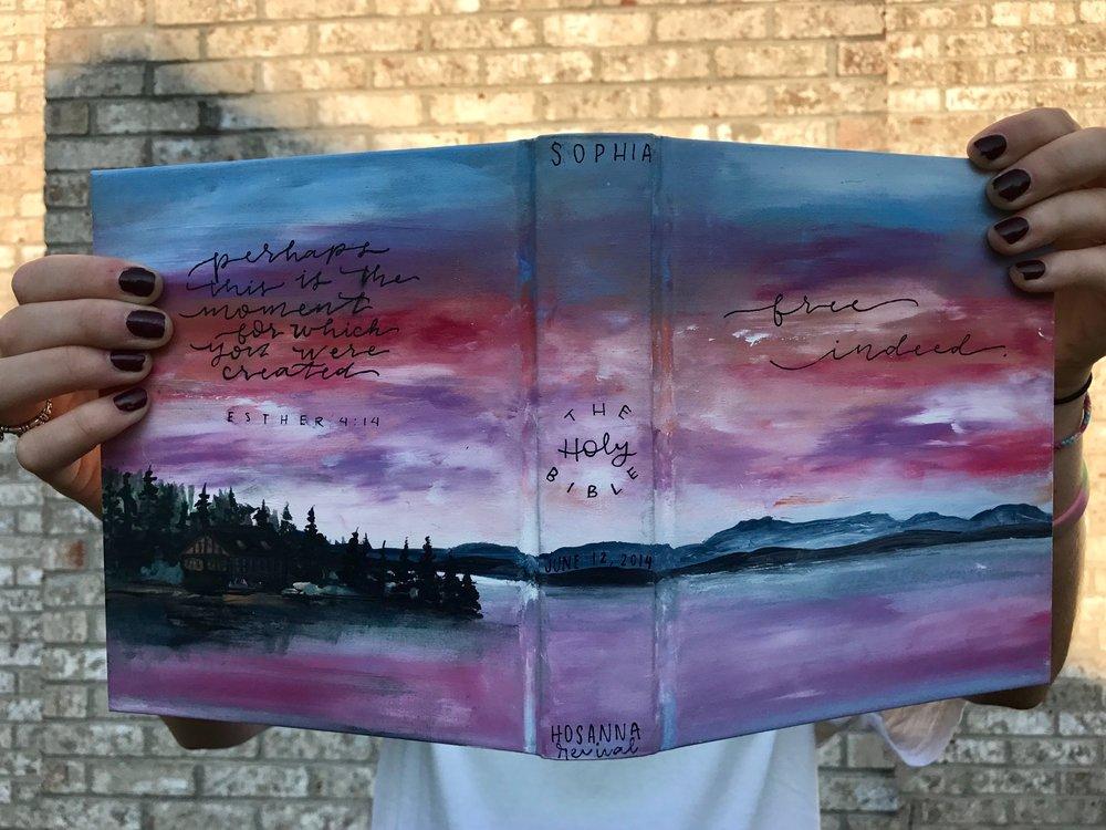 Sophia Boden Bible