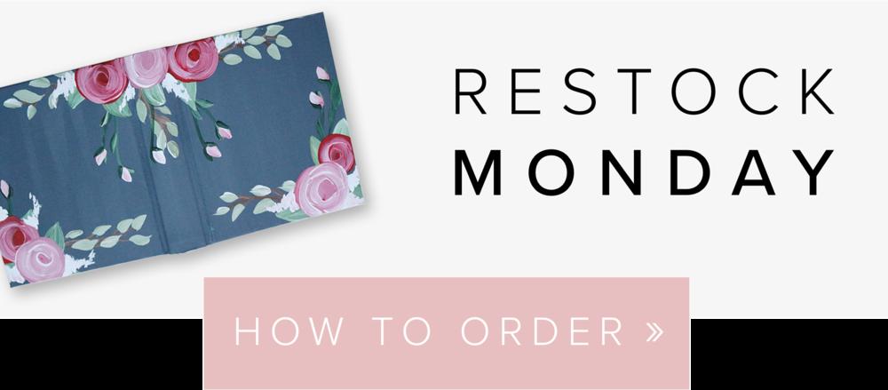 Restock Monday