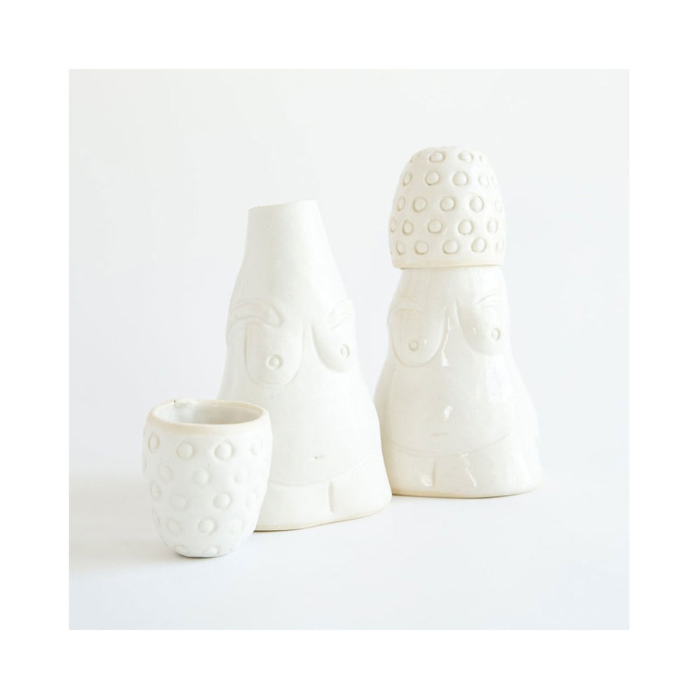 VENUS OF WILLENDORF WATER CARAFE BY KNOTWORK LA