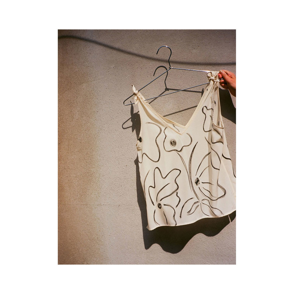GARDEN TIE TOP BY LJUKA
