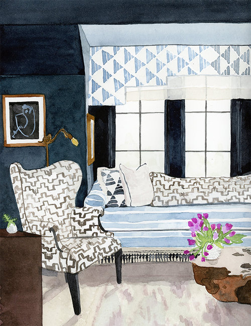 Interior Illustration Of Cloth Kinds Living Room For The Atlanta Homes And Lifestyles Home