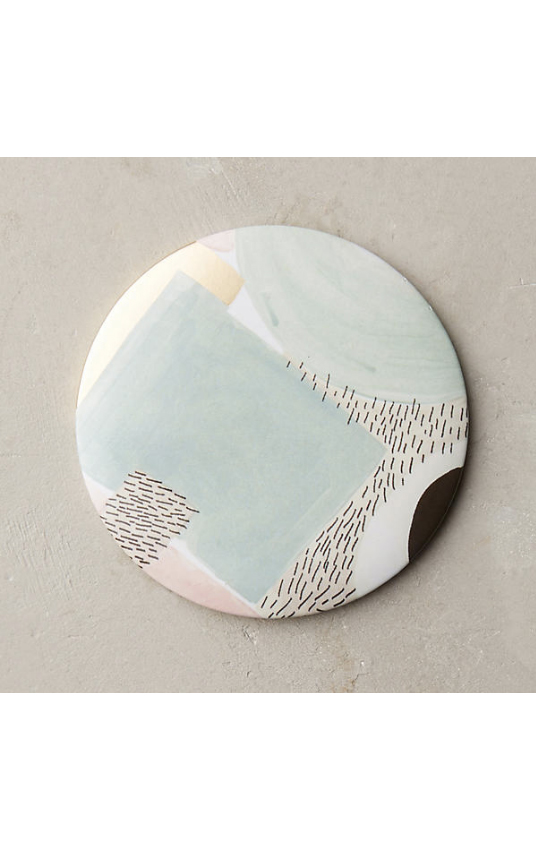 collaboration with Anthropologie for Artist Atelier Collection pocket mirror (November 2016)
